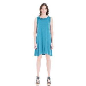 🆕NWT Max Studio Sleeveless Teal Jersey Knit Dress